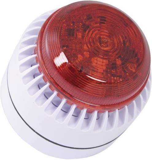 ComPro ROLP Solista Beacon Combi-signaalgever Wit Continu geluid 12 V/DC, 24 V/DC