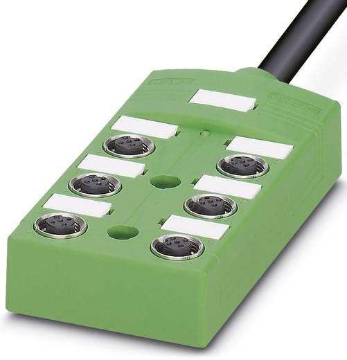 Passieve sensor/actorbox M12-verdeler met metalen schroefdraad SACB-6 / 6-