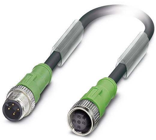 Phoenix Contact SAC-4P-M12MS/ 0,5-186/M12FS Sensor-/actorkabel Inhoud: 1 stuks
