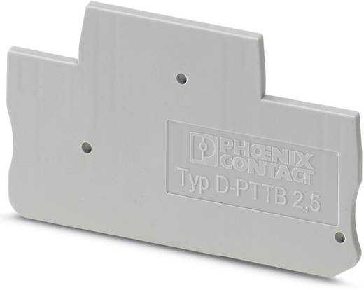 D-PTTB 1,5/S/2P - deksel D-PTTB 1,5/S/2P Phoenix Contact Inhoud: 50 stuks