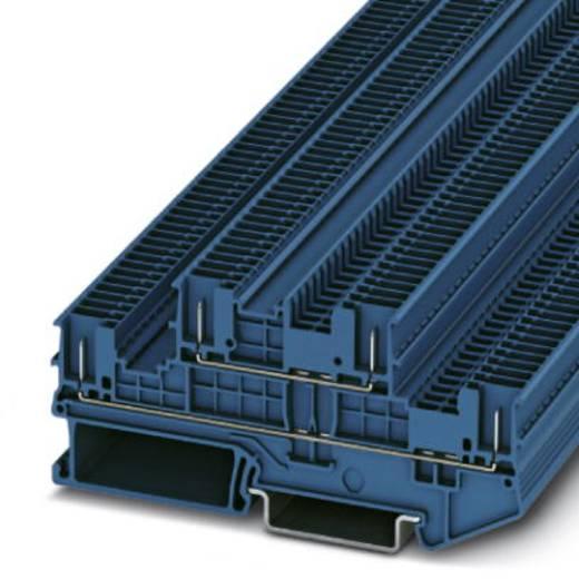 Phoenix Contact PTTB 1,5/S/4P BU PTTB 1,5/S/4P BU - 2-laags klem Blauw Inhoud: 50 stuks