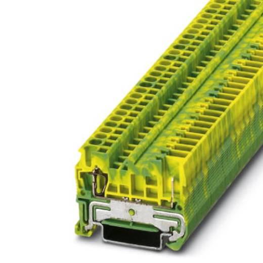 Phoenix Contact ST 2,5/ 1P-PE ST 2,5/ 1P-PE - randaarde-serieklem Groen-geel Inhoud: 50 stuks