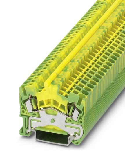 Phoenix Contact STS 2,5-PE STS 2,5-PE - randaarde-serieklem Groen-geel Inhoud: 50 stuks