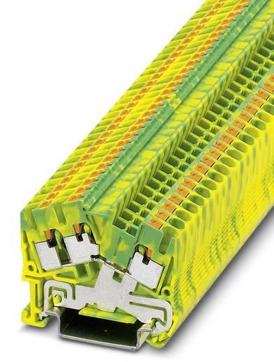 Phoenix Contact PTS 2,5-TWIN-PE PTS 2,5-TWIN-PE - randaarde-serieklem Groen-geel Inhoud: 50 stuks