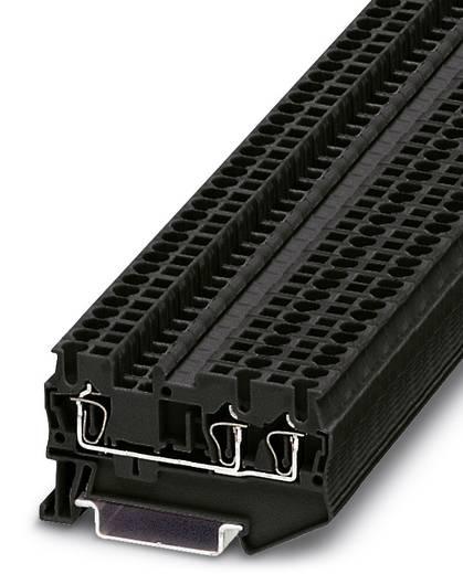 Phoenix Contact ST 2,5-TWIN BK ST 2,5-TWIN BK - doorgangsserieklem Zwart Inhoud: 50 stuks