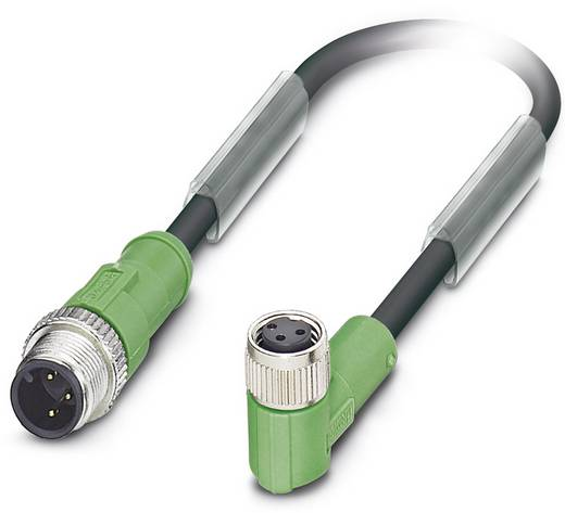 Phoenix Contact SAC-3P-M12MS/3,0-PUR/M 8FR Sensor-/actorkabel Inhoud: 1 stuks