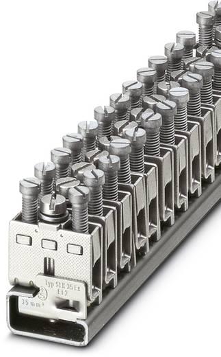 Phoenix Contact SLK 4-EX SLK 4-EX - Randaarde-serieklem Zilver Inhoud: 50 stuks