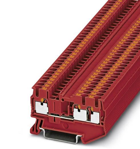Phoenix Contact PT 2,5-TWIN RD PT 2,5-TWIN RD - doorgangsklem Rood Inhoud: 50 stuks