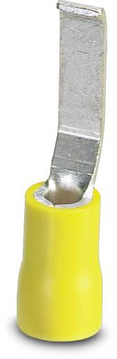 Phoenix Contact 3240570 Stiftkabelschoen Platte uitvoering 4 mm² 6 mm² Deels geïsoleerd Geel 50 stuks