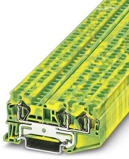 Phoenix Contact ST 4-TWIN-PE ST 4-TWIN-PE - doorgangsserieklem Groen-geel Inhoud: 50 stuks