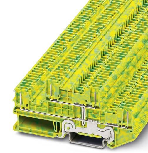Phoenix Contact PTTB 1,5/S/4P-PE PTTB 1,5/S/4P-PE - tweelaags randaardeleidingklem Groen-geel Inhoud: 50 stuks