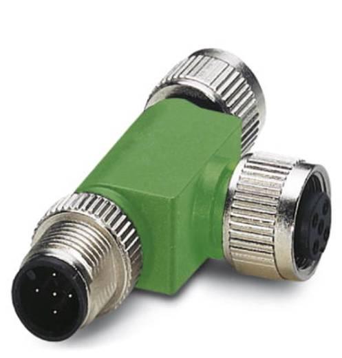 Phoenix Contact SAC-5P-M12T/2XM12 VP 1541186 SAC-5P-M12T/2XM12 VP - T-verdeler Inhoud: 1 stuks