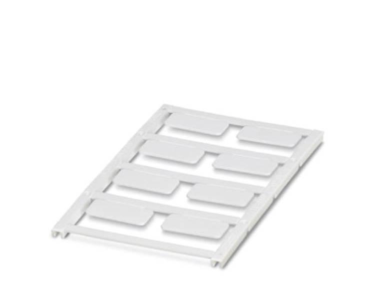 Apparaatmarkering Montagemethode: Vastklemmen Markeringsvlak: 27 x 12.50 mm Geschikt voor serie Frames Wit Phoenix Contact UC-EMP (27X12,5) 0825433 Aantal