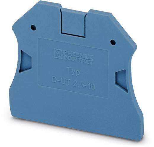 D-UT 2,5/10 BU - afsluitdeksel D-UT 2,5/10 BU Phoenix Contact