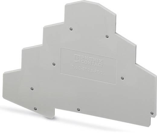 D-ST 2,5-PE/3L - Afsluitdeksel D-ST 2,5-PE/3L Phoenix Contact Inhoud: 50 stuks