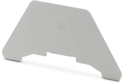 ATS-GSK - groepenscheidingsplaat ATS-GSK Phoenix Contact Inhoud: 50 stuks
