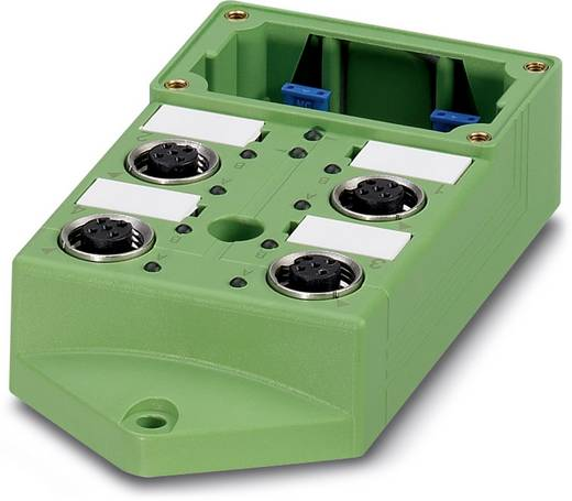 Passieve sensor/actorbox M12-verdeler met metalen schroefdraad SACB-4/4-L-