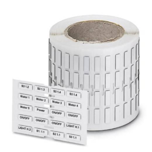 Apparaatmarkering Montagemethode: Plakken Markeringsvlak: 45 x 15 mm