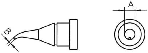 Weller Professional LT-1X Soldeerpunt Ronde vorm, gebogen Grootte soldeerpunt 0.4 mm