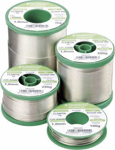 Stannol Flowtin TC Soldeertin, loodvrij Spoel Sn99Cu1 100 g 1.0 mm