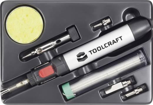 TOOLCRAFT PT237 7-delige gasbrander/-soldeer-set