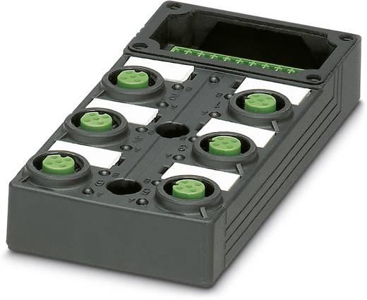 Passieve sensor/actorbox M12-verdeler met kunstof schroefdraad SACB-6/6-L-