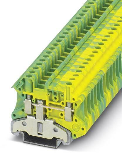 Phoenix Contact UT 4-MTD-PE/S UT 4-MTD-PE/S - doorgangsserieklem Groen-geel Inhoud: 50 stuks