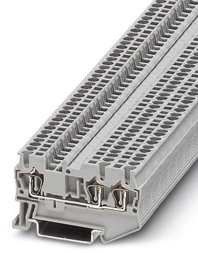 Phoenix Contact ST 1,5-TWIN ST 1,5-TWIN - doorgangsserieklem Grijs Inhoud: 50 stuks