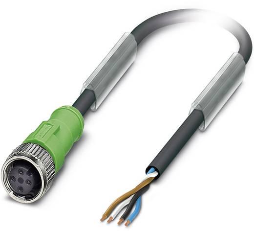 Phoenix Contact SAC-4P-10,0-PVC/M12FS BK Sensor-/actorkabel Inhoud: 1 stuks