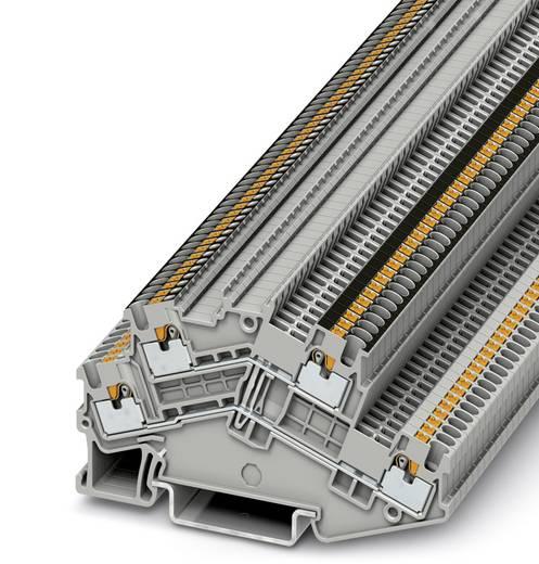 Phoenix Contact PTTBS 1,5/S-PV PTTBS 1,5/S-PV - Tweelaags klem Grijs Inhoud: 50 stuks