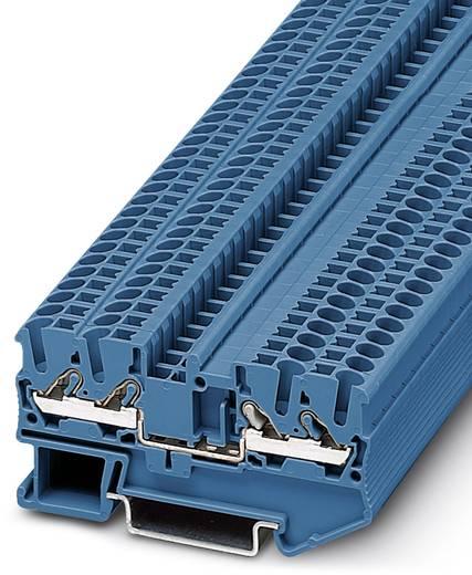 Phoenix Contact DT 2,5-QUATTRO BU DT 2,5-QUATTRO BU - Doorgangsklem Blauw Inhoud: 50 stuks