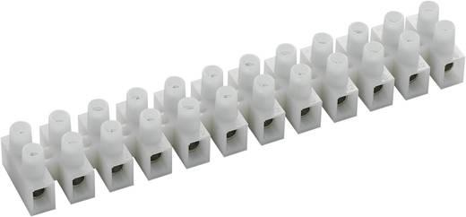 589022 Kroonsteen Flexibel: 2.5-6 mm² Massief: 2.5-6 mm² Aantal polen: 12 10 stuks Wit