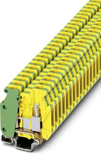Phoenix Contact MBK 3/E-Z-PE MBK 3/E-Z-PE - randaarde-serieklem Groen-geel Inhoud: 50 stuks