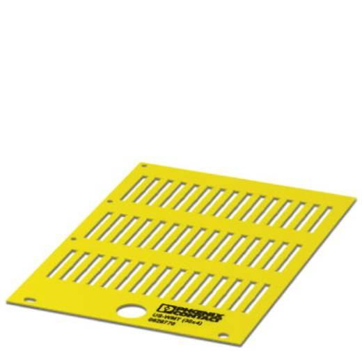 US-WMT (30X4) YE - Kabelmarkeerder Aantal markeringen: 420 US-WMT (30X4) YE Phoenix Contact Inhoud: 10 stuks