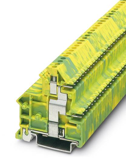 Phoenix Contact UKK 3-MSTB-5,08-PE UKK 3-MSTB-5,08-PE - doorgangsklem Groen-geel Inhoud: 50 stuks