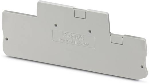 D-STTB 2,5/4P - afsluitdeksel D-STTB 2,5/4P Phoenix Contact Inhoud: 50 stuks