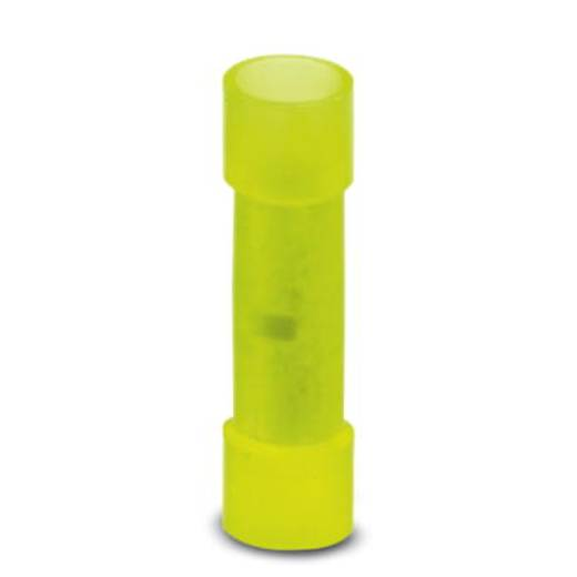 Stootverbinder 4 mm² 6 mm² Volledig geïsoleerd Geel Phoenix Contact 3240063 25 stuks