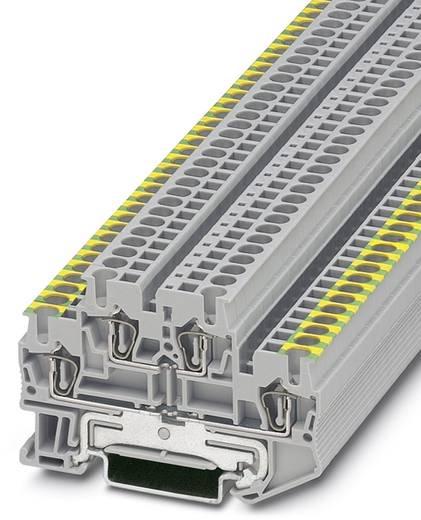 Phoenix Contact STTB 2,5-PE/L STTB 2,5-PE/L - doorgangsserieklem Grijs, Groen-geel Inhoud: 50 stuks