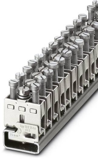 Phoenix Contact SLK 35-EX SLK 35-EX - Randaarde-serieklem Zilver Inhoud: 10 stuks