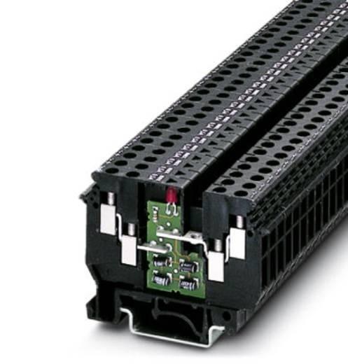 Phoenix Contact UDK 4-ILA 500 UDK 4-ILA 500 - doorgangsserieklem Zwart Inhoud: 50 stuks