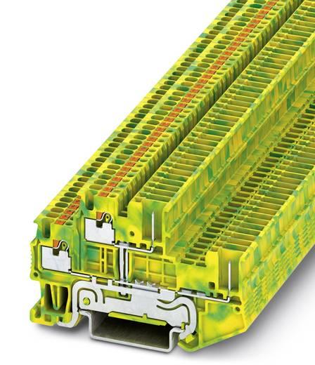 Phoenix Contact PTTB 1,5/S/2P-PE PTTB 1,5/S/2P-PE - dubbeldeks geaarde klem Groen-geel Inhoud: 50 stuks