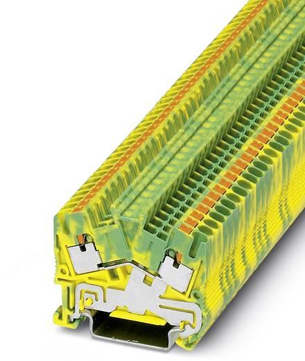 Phoenix Contact PTS 2,5-PE PTS 2,5-PE - geaarde serieklem Groen-geel Inhoud: 50 stuks