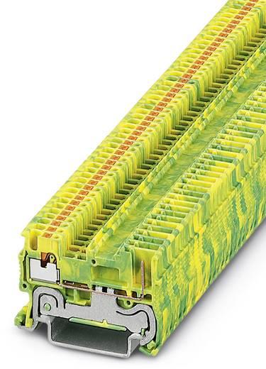 Phoenix Contact PT 1,5/S/1P-PE PT 1,5-S/1P-PE - Randaarde-serieklem Groen-geel Inhoud: 50 stuks