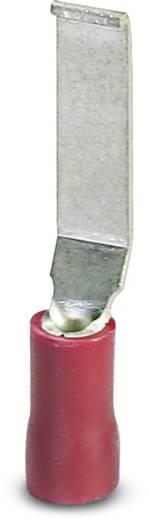 Phoenix Contact 3240015 Stiftkabelschoen Platte uitvoering, Haakvormig 0.5 mm² 1.5 mm² Deels geïsoleerd Rood 100 stuks