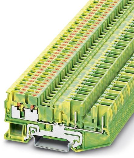 Phoenix Contact PT 2,5-QUATTRO/2P-PE PT 2,5-QUATTRO/2P-PE - Randaarde-serieklem Groen-geel Inhoud: 50 stuks
