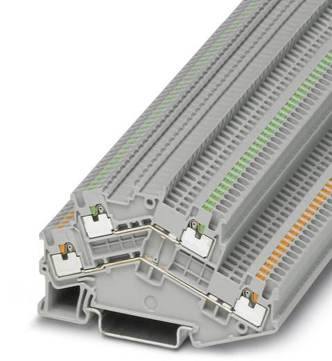 Phoenix Contact PTTBS 1,5/S/U-OG/O-GN PTTBS 1,5/S/U-OG/O-GN - Componentserieklem Groen, Oranje Inhoud: 50 stuks