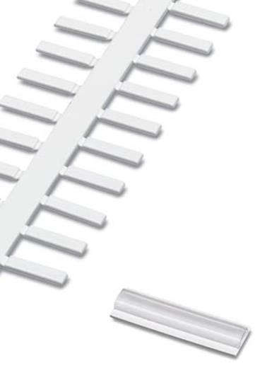 Kabelmarkering Montagemethode: Plakken Markeringsvlak: 30 x 4 mm Geschikt voor serie Phoenix Contact UC-WMT Transparant