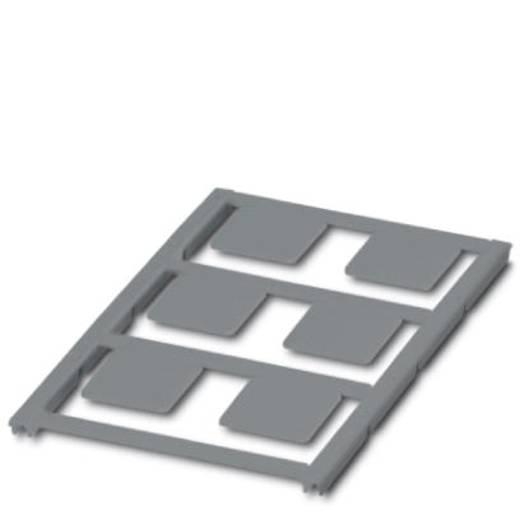 Apparaatmarkering Montagemethode: Plakken Markeringsvlak: 22 x 22 mm Geschikt voor serie Universeel gebruik Zilver Phoen
