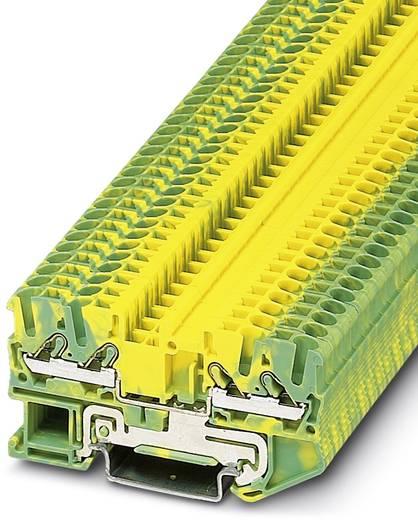 Phoenix Contact DT 2,5-QUATTRO-PE DT 2,5-QUATTRO-PE - Doorgangsklem Groen-geel Inhoud: 50 stuks