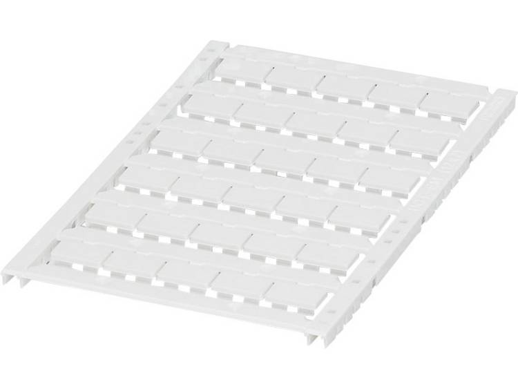 Apparaatmarkering Montagemethode: Vastklemmen Markeringsvlak: 12 x 7 mm Geschikt voor serie Apparatuur en schakelapparatuur Wit Phoenix Contact UCT-EM (12X7)